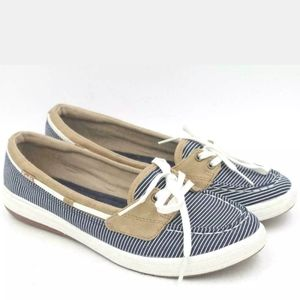 Keds Glimmer Boat Shoes 6